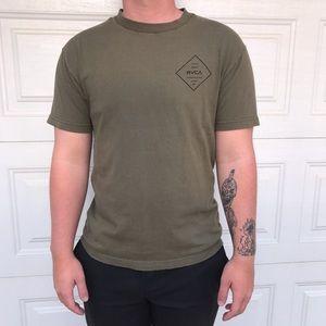 Green RVCA T-shirt